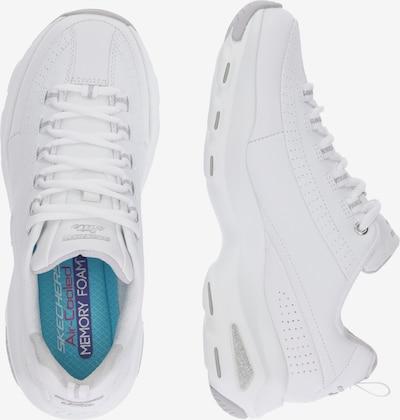 SKECHERS Sneaker 'D'Lite Ultra Illusions' in weiß: Seitenansicht
