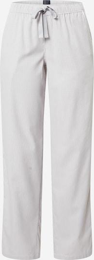 SCHIESSER Pyjamahose in grau / weiß, Produktansicht