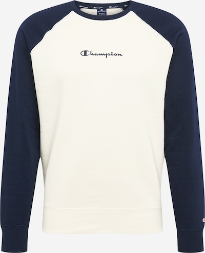 Champion Authentic Athletic Apparel Sweatshirt in de kleur Navy / Offwhite, Productweergave
