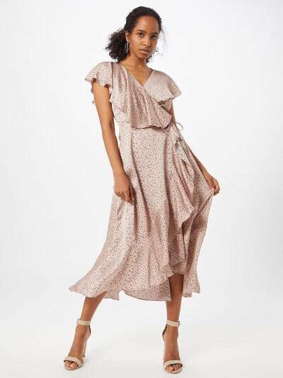 Missguided Kleid in dunkelblau / rosé, Modelansicht