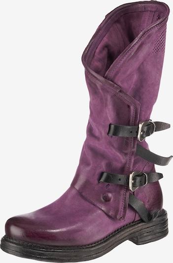 A.S.98 Stiefel in lila / schwarz, Produktansicht