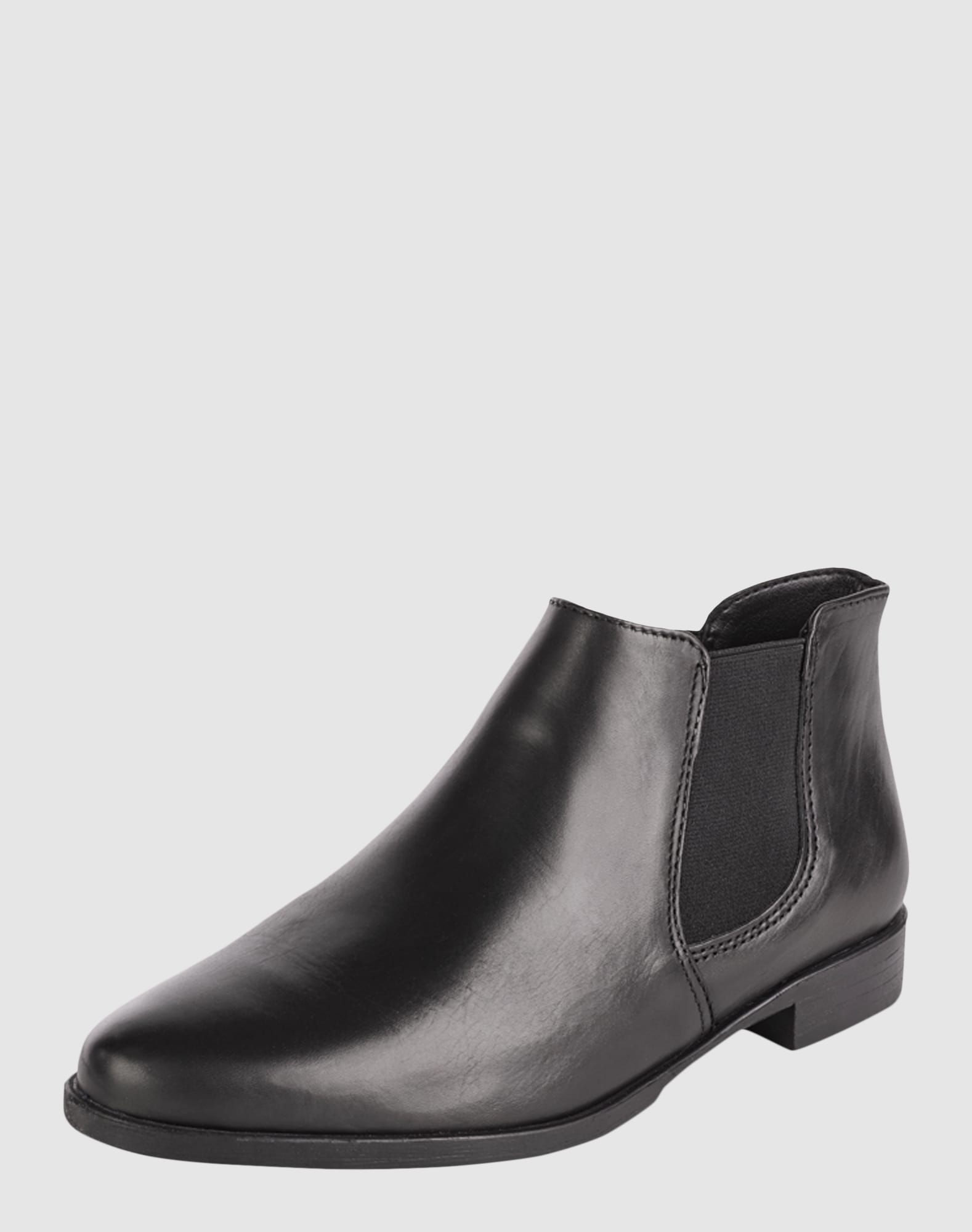 tamaris kurze chelsea boots in schwarz about you. Black Bedroom Furniture Sets. Home Design Ideas