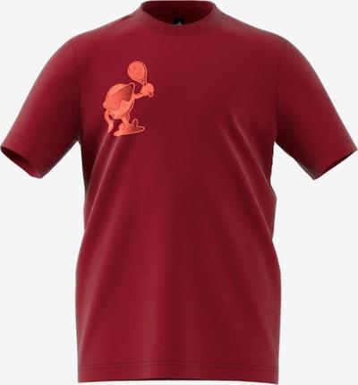 ADIDAS PERFORMANCE T-Shirt in rot / hellrot, Produktansicht