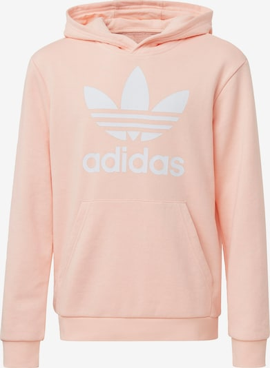 ADIDAS ORIGINALS Sweatshirt in de kleur Poederroze / Wit, Productweergave