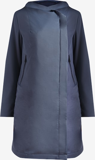 Finn Flare Functionele jas in de kleur Duifblauw, Productweergave