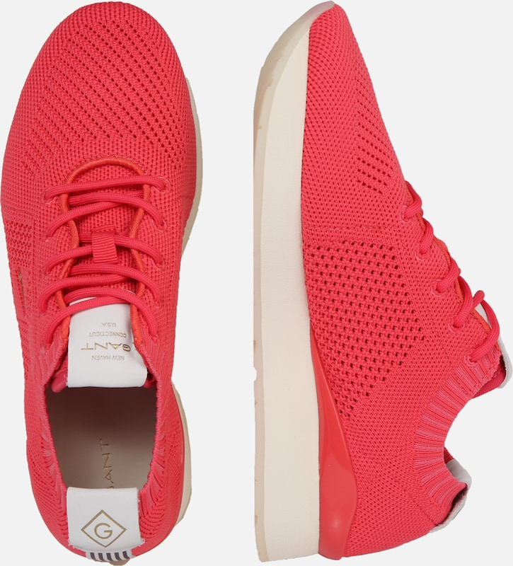 'linda' Rouge En Basses Baskets Gant R5qc4jS3LA