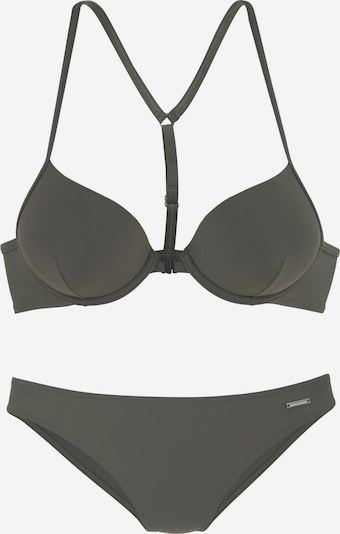 BRUNO BANANI Push-Up-Bikini in oliv, Produktansicht