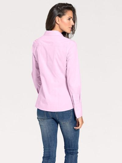 heine Bluzka w kolorze różowy pudrowym: Widok od tyłu