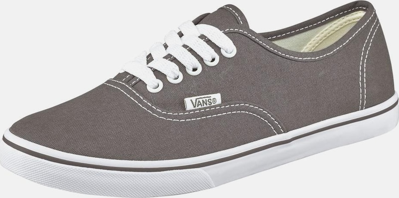 vans authentic lo pro grau