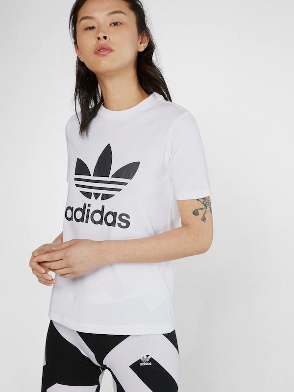 Originals En 'trefoil' shirt Adidas T NoirBlanc wPukZXiOT