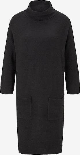TOM TAILOR Adīta kleita pieejami melns, Preces skats