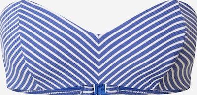 Sutien costum de baie Seafolly pe albastru / alb, Vizualizare produs