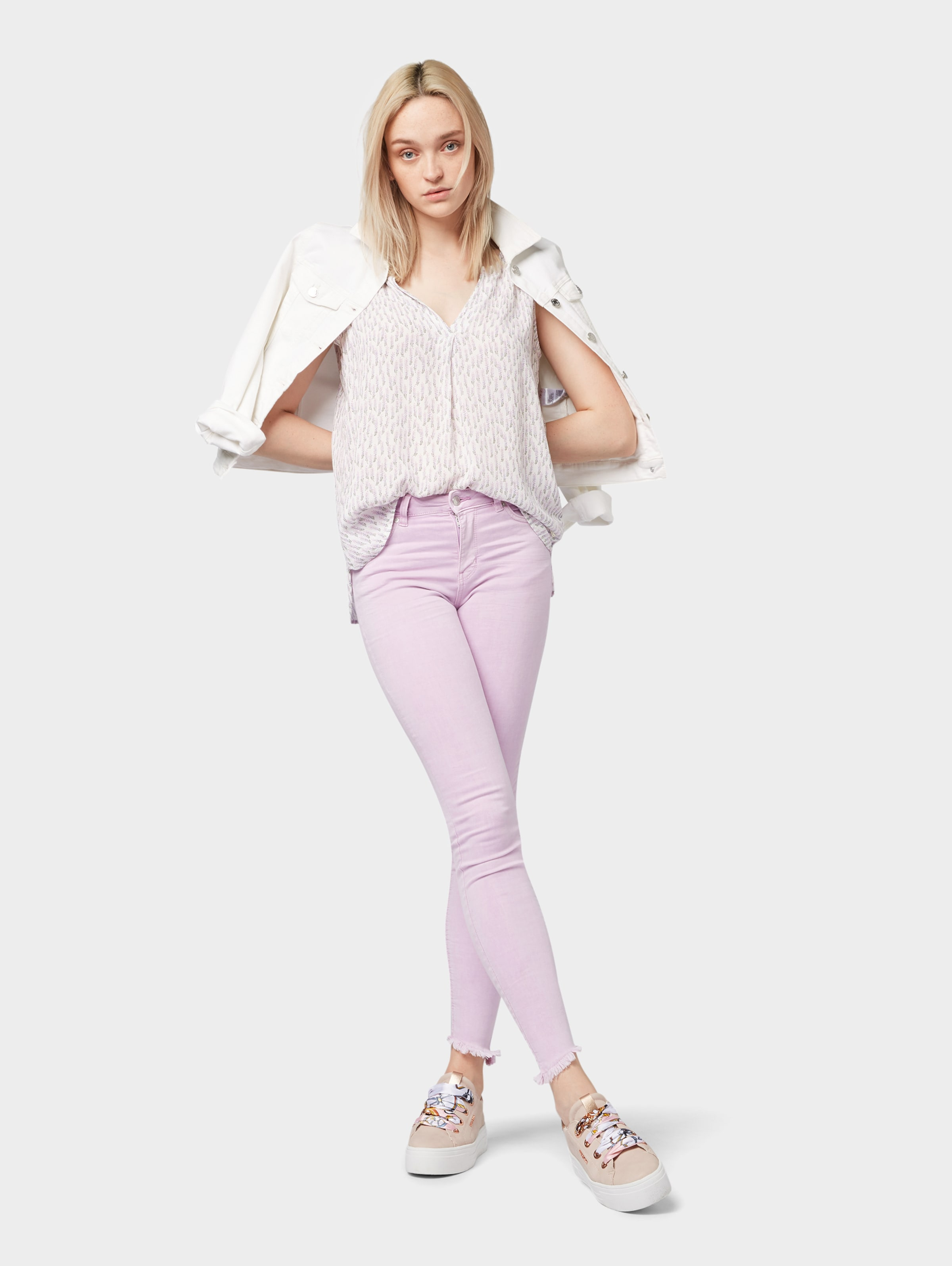 Bluse Tom Denim Tailor In Offwhite 0mvnwN8Oy