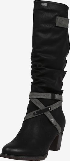 RIEKER Bottes en noir, Vue avec produit