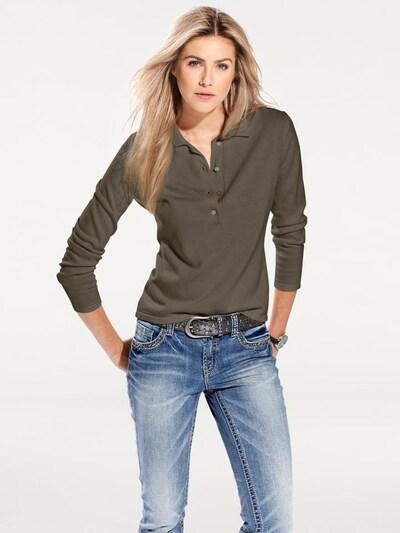 heine Sweater in Mocha: Frontal view