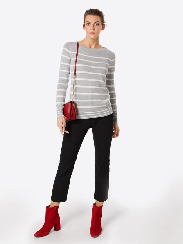 'swtr En Colblock ClairBlanc Pull over Sweaters' Gris Esprit D29EHYWI