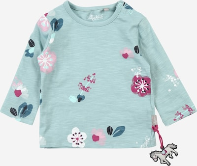 SIGIKID Shirt in blau / pastellblau / rosa / himbeer / weiß, Produktansicht