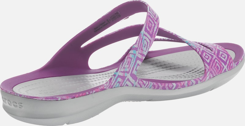 Crocs Swiftwater Graphic Sandal W Zehentrenner