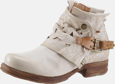 A.S.98 Boots 'Saintec' in Offwhite