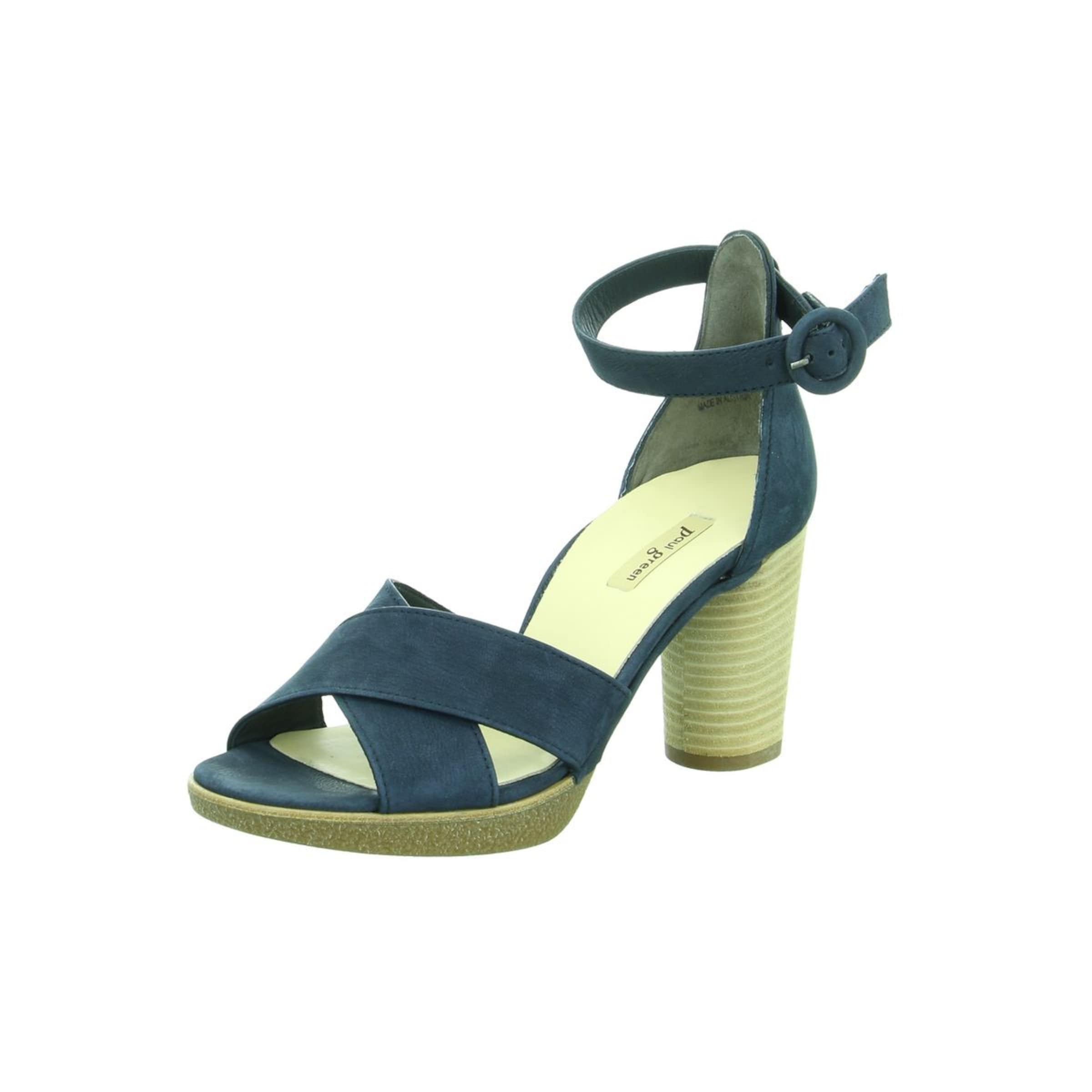 In Paul Sandalette Pastellblau Green Pastellblau In Green Sandalette Paul Paul v6ybf7Yg