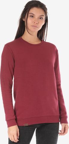 Lakeville Mountain Sweatshirt 'Luvua' in Red