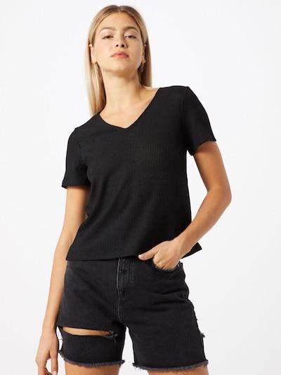 VERO MODA Koszulka 'VMHANNA' w kolorze czarnym: Widok z przodu