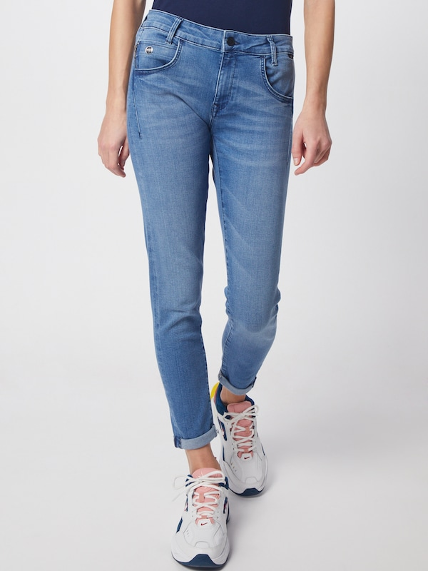 Mavi Jeans 'LEXY' in blue denim: Frontalansicht