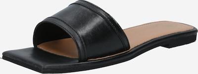 Missguided Slipper 'SQUARE TOE ' in schwarz, Produktansicht