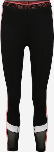 FILA Sportbroek 'WMN ANWEN' in de kleur Koraal / Zwart, Productweergave