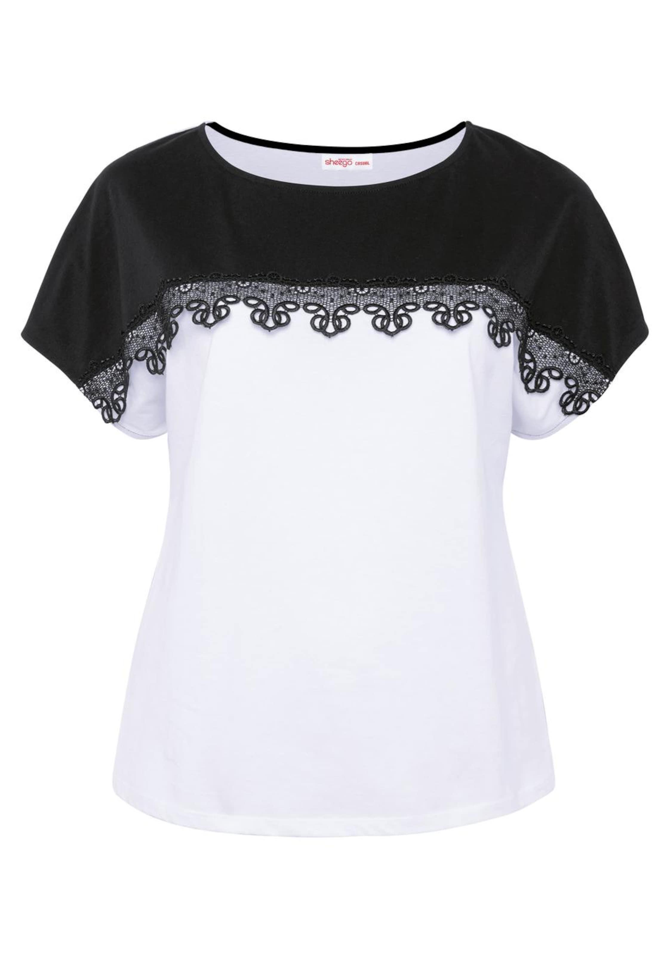 SchwarzWeiß Sheego T In T Sheego shirt KT1cFlJ3