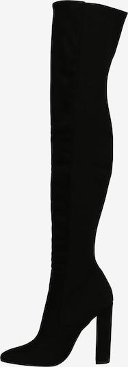 STEVE MADDEN Stiefel 'ESSENCE' in schwarz: Seitenansicht
