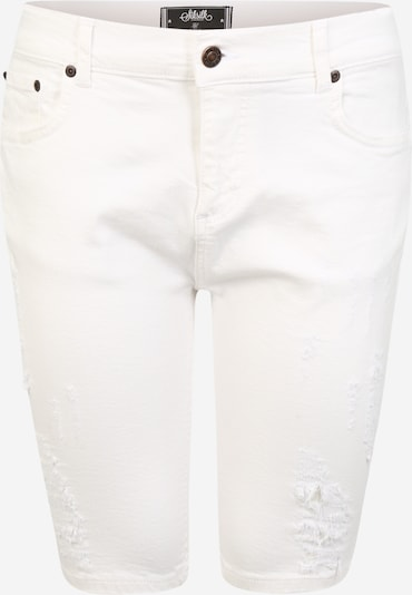 SikSilk Jeans in de kleur White denim, Productweergave
