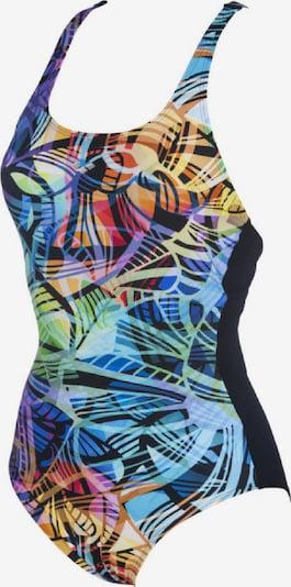 ARENA Badeanzug in mischfarben: Frontalansicht