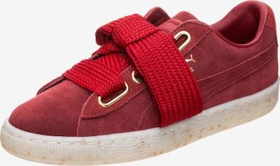 PUMA Sneaker 'Suede Heart Celebrate' in rot, Produktansicht
