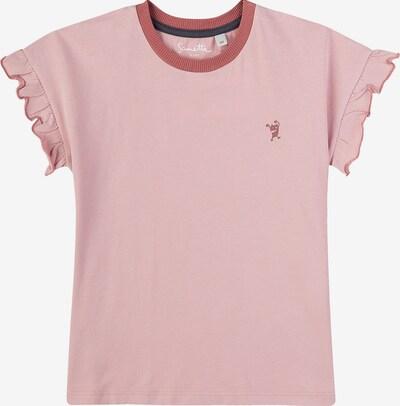 SANETTA T-Shirt in altrosa / dunkelrot, Produktansicht