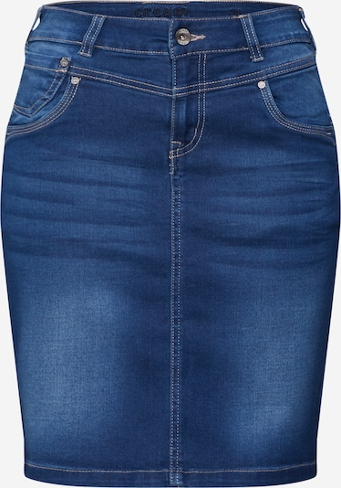 Cream Rock 'KammaCR Denim Skirt' in blue denim / dunkelblau, Produktansicht