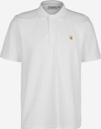 Carhartt WIP Polo ' Chase Pique ' in weiß, Produktansicht