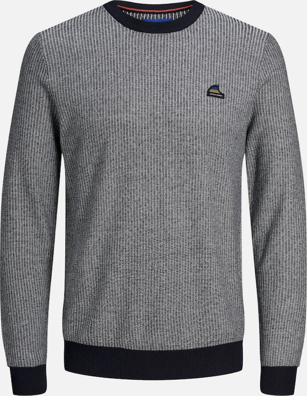 JACK & JONES Pullover in blau, Produktansicht
