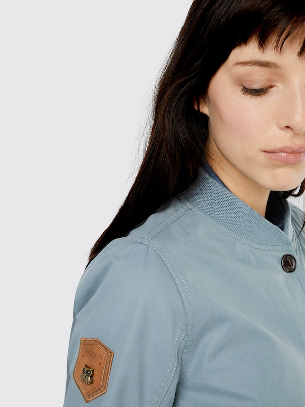 naketano Jacke 'Frei & Gefährlich' in blau NAK1207002000001