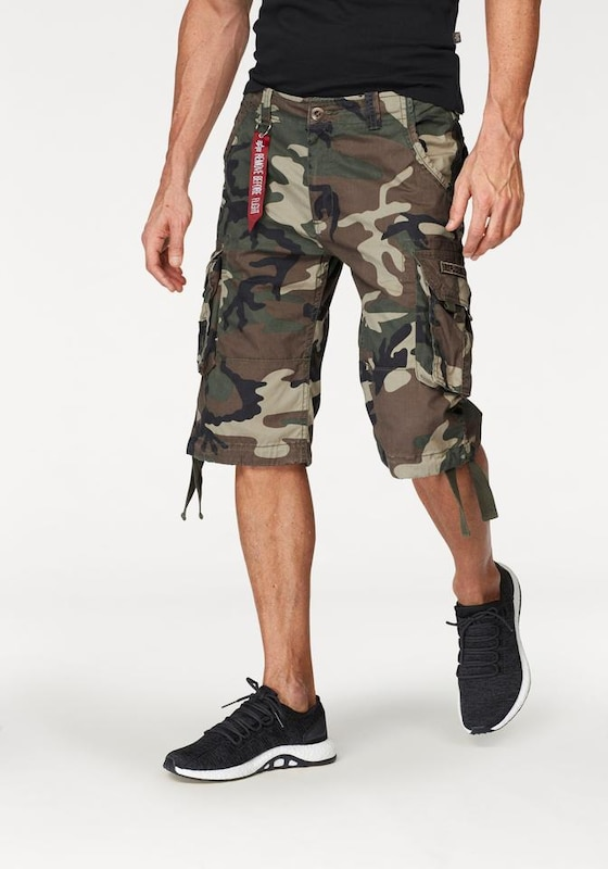 ALPHA INDUSTRIES Shorts 'Jet'