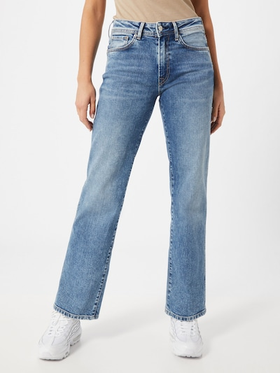 Pepe Jeans Jeans 'NEW OLYMPIA' in blue denim, Modelansicht