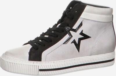 Paul Green Sneaker in hellgrau / schwarz, Produktansicht