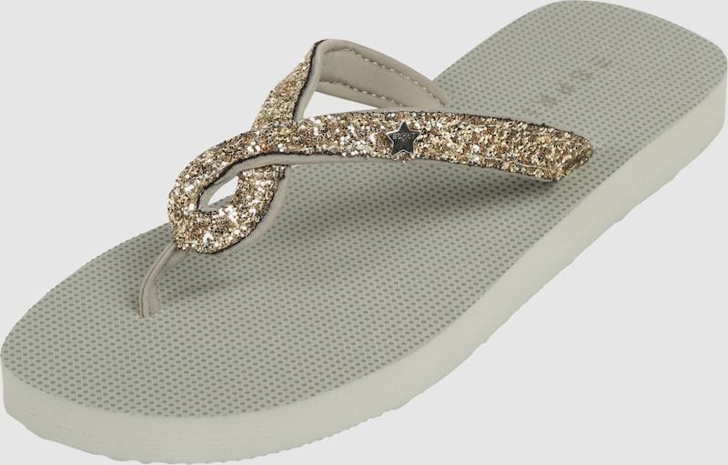 ESPRIT Zehentrenner Denise Glitter Verschleißfeste billige Schuhe