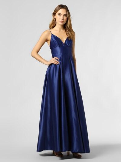 Marie Lund Abendkleid in dunkelblau, Modelansicht