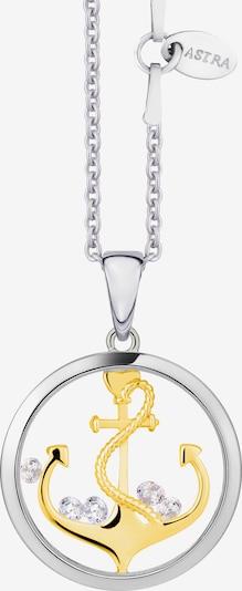 Astra Kette mit Anhänger 'ANCHOR THE SOUL' in gold / silber, Produktansicht