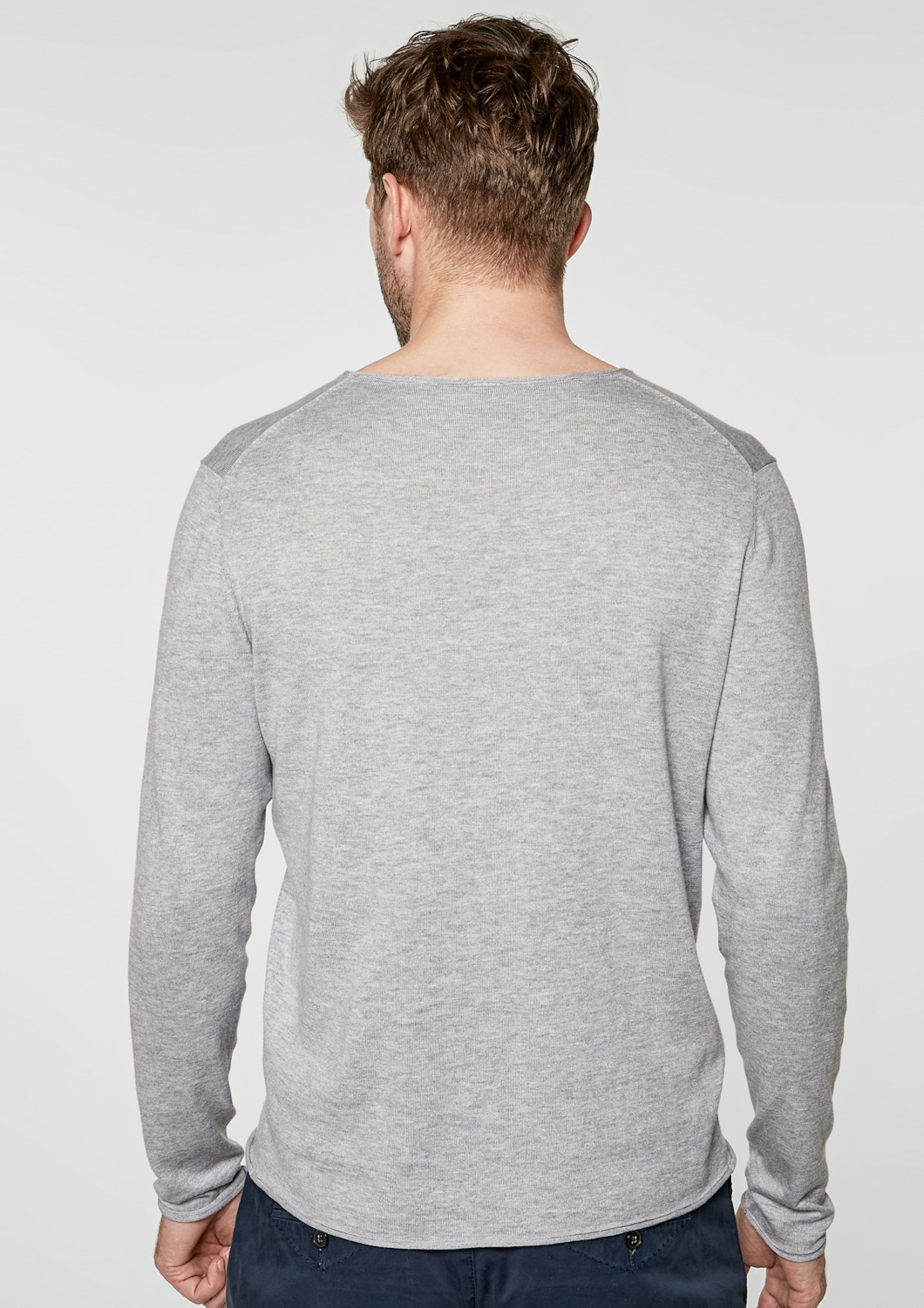 Label S Pullover oliver Graumeliert Black In 9YDEH2beWI
