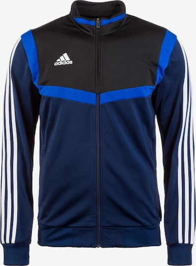 ADIDAS PERFORMANCE Športna jakna 'Tiro 19' | modra / temno modra / črna / bela barva, Prikaz izdelka