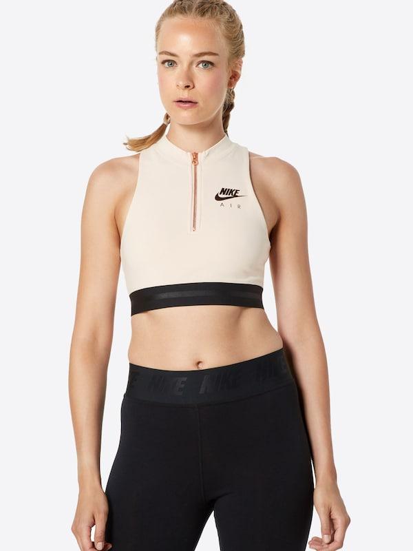 Nike Sportswear Haut 'air Crop' En Poudre Tank nwNm80
