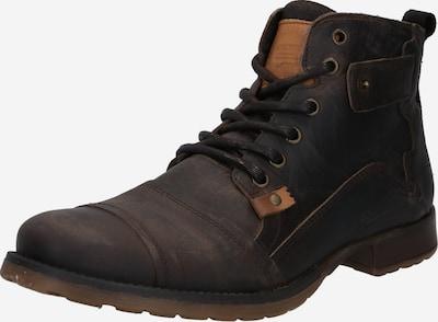 BULLBOXER Buty sznurowane w kolorze ciemnobrązowym, Podgląd produktu