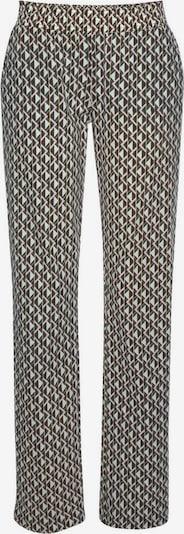 LASCANA Pyžamové nohavice - modrá / tmavozelená / ružová, Produkt
